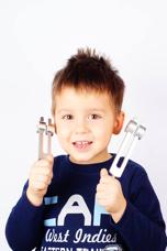 little kid tune fork